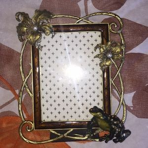Small Frog 🐸 & Flower 🌸 Sequins Frame